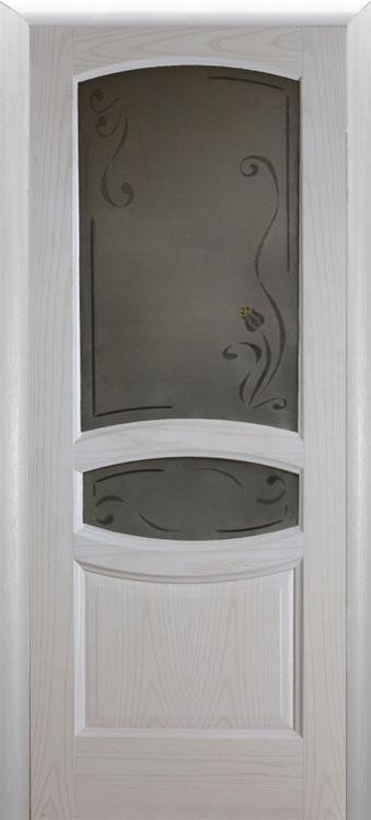 Аврора-2 белый ясень стекло
